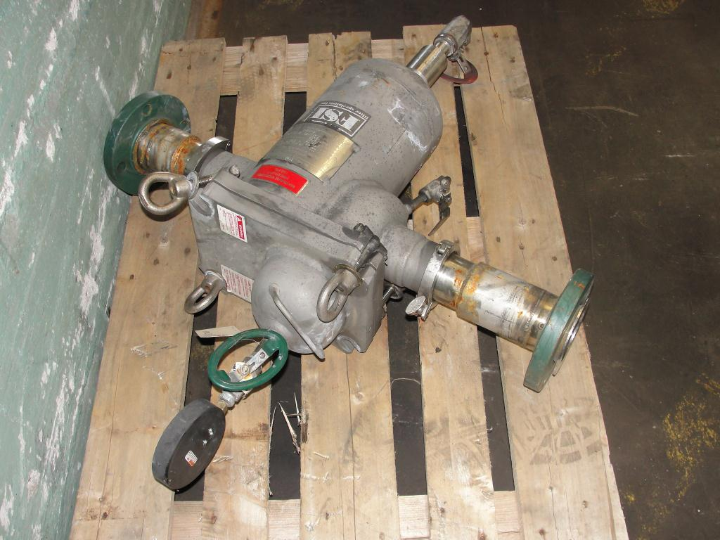 Filtration Equipment 6 Filter Specialists Inc basket strainer (single), model FSP N-40#, 316 SS2