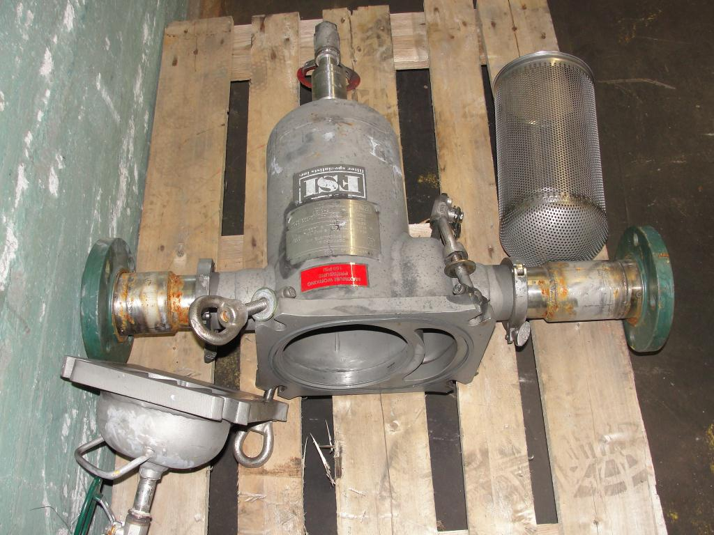 Filtration Equipment 6 Filter Specialists Inc basket strainer (single), model FSP N-40#, 316 SS3