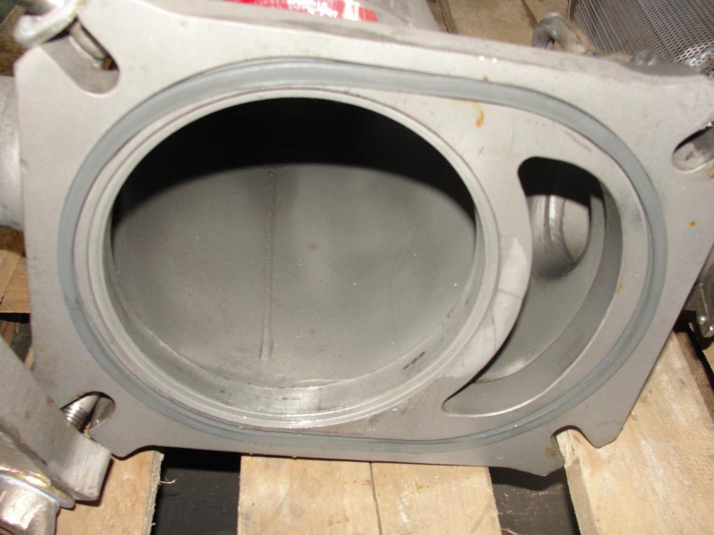 Filtration Equipment 6 Filter Specialists Inc basket strainer (single), model FSP N-40#, 316 SS4