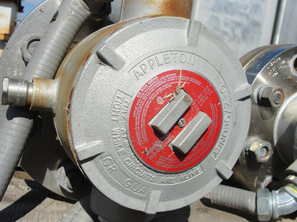 Boiler M&M Welding & Fab electric steam generator 200 psi @ 388F max psi3