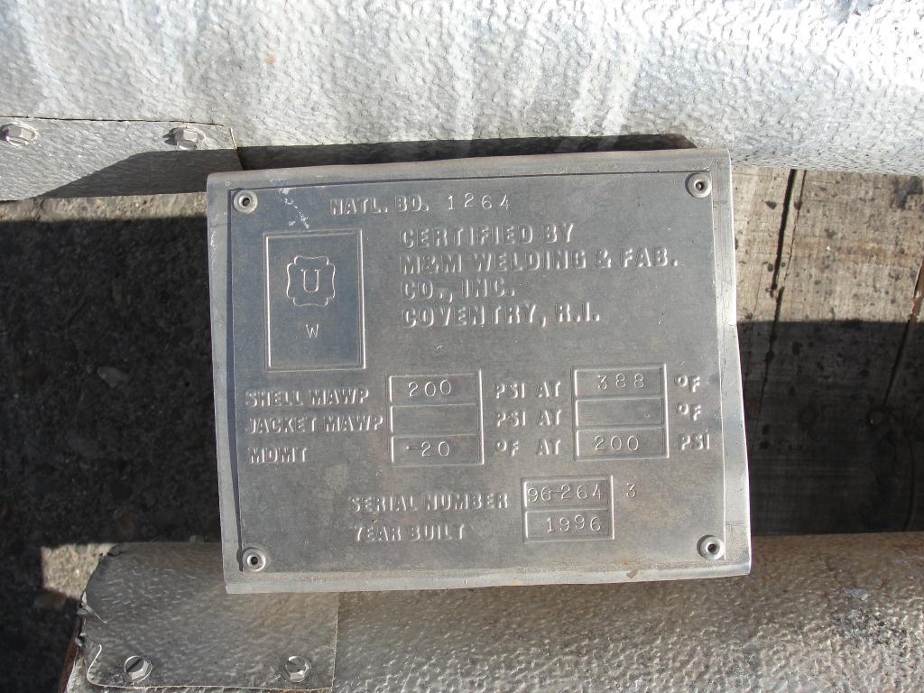 Boiler M&M Welding & Fab electric steam generator 200 psi @ 388F max psi4