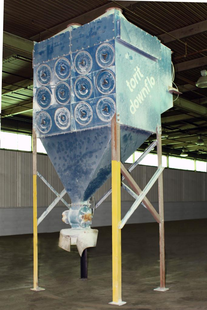 Dust Collector 6096 sq.ft. Donaldson Torit reverse pulse jet dust collector up to 15,200 cfm6