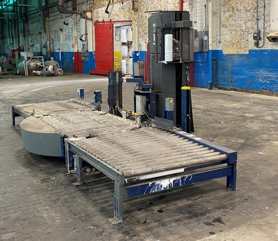 Wrapping machine Lantech stretch wrapping machine model Q Auto, 62 max. wrap height, speed up to 45 Loads/hr.2