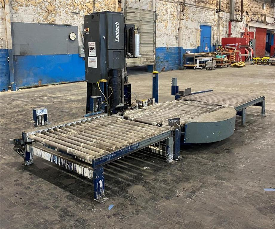 Wrapping machine Lantech stretch wrapping machine model Q Auto, 62 max. wrap height, speed up to 45 Loads/hr.3