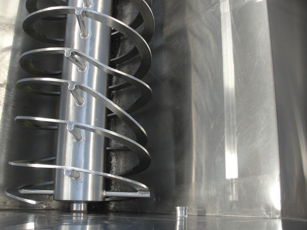 Mixer and Blender 170 cu. ft. capacity Walker ribbon blender, model Blender, 316 SS6