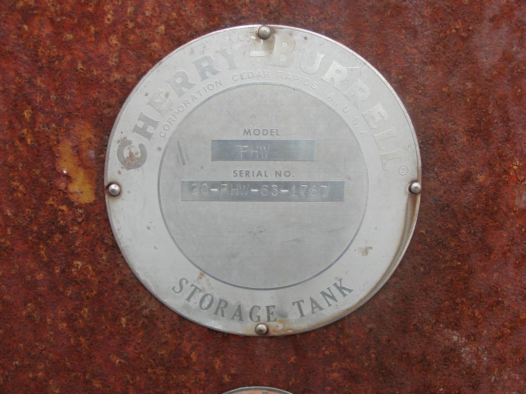 Tank 1700 gallon horizontal tank, Stainless Steel Contact Parts7