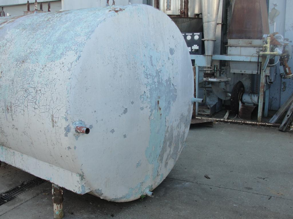 Tank 2800 gallon horizontal tank, Stainless Steel Contact Parts3