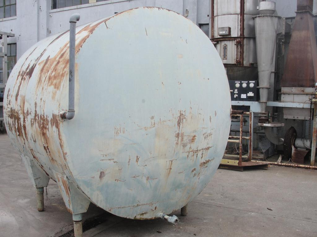 Tank 1700 gallon horizontal tank, Stainless Steel Contact Parts3