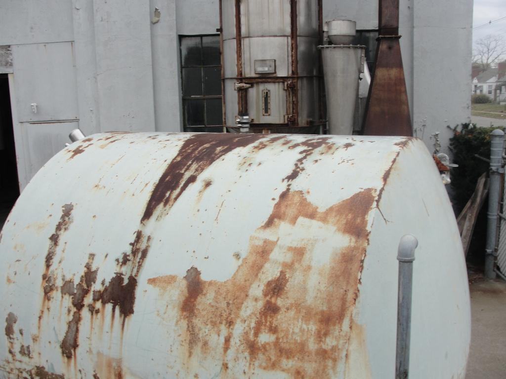 Tank 1700 gallon horizontal tank, Stainless Steel Contact Parts4