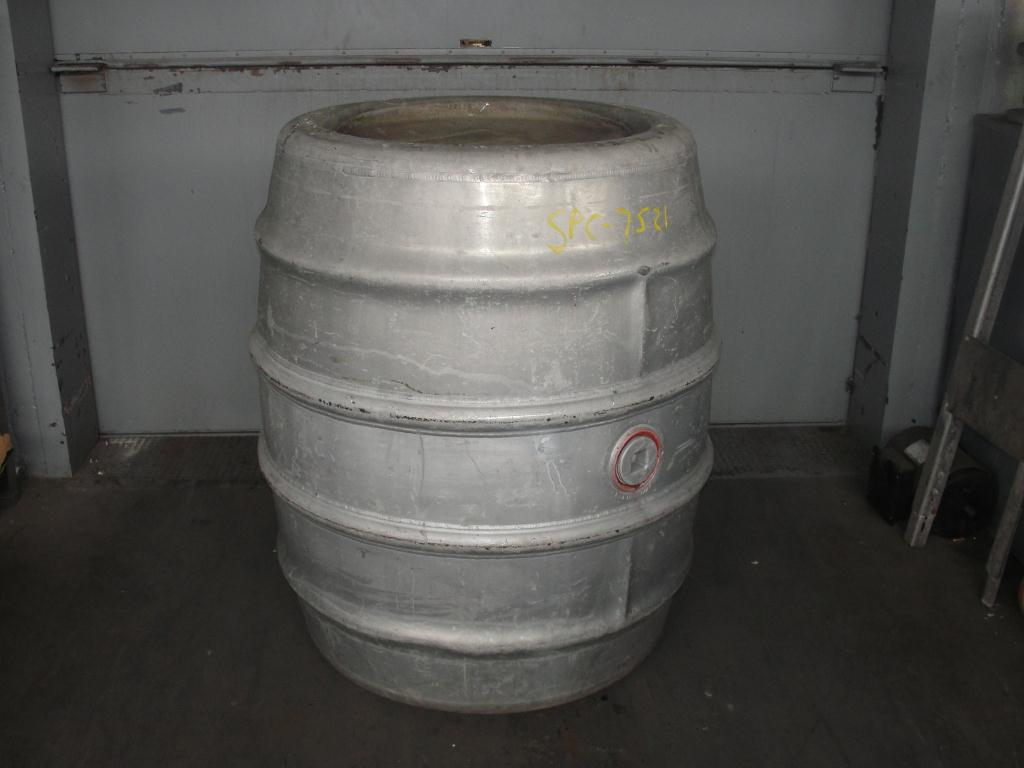 Tank 225 gallon Giovanola Monthey-Suise liquid tote, Aluminum1