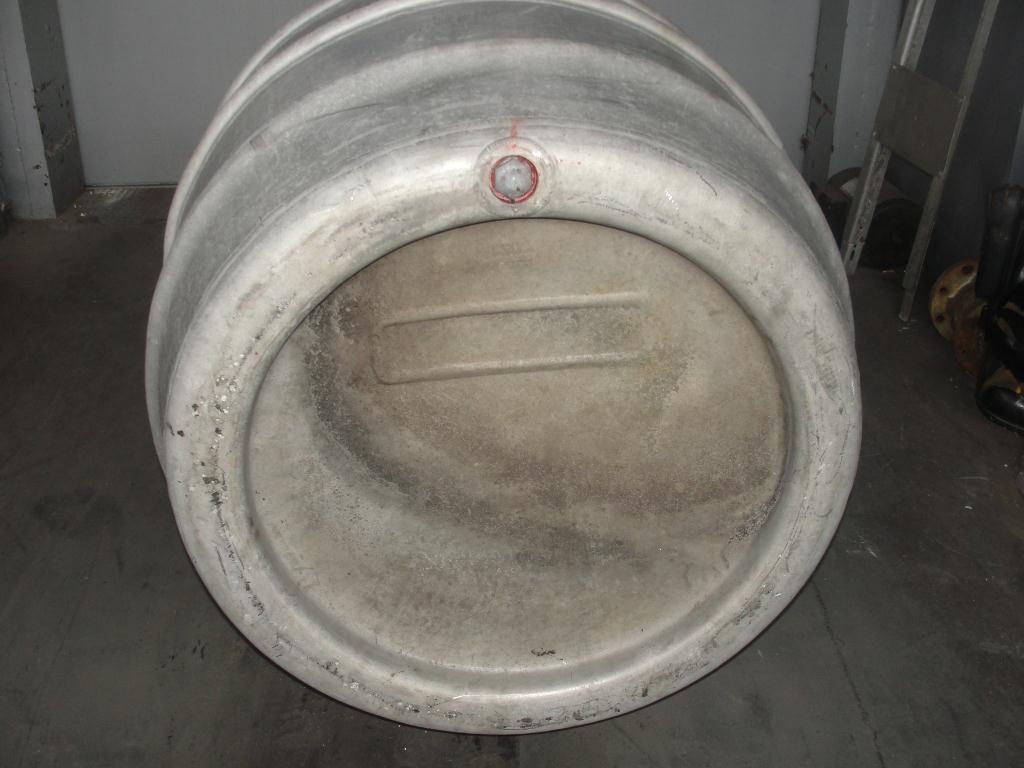 Tank 225 gallon Giovanola Monthey-Suise liquid tote, Aluminum2