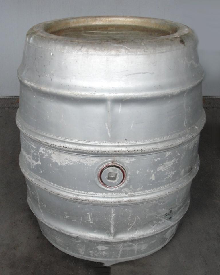Tank 225 gallon Giovanola Monthey-Suisse liquid tote, Aluminum1