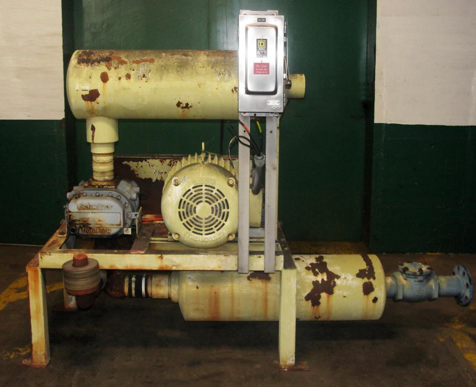 Blower 781 cfm, positive displacement blower Republic Pneumatics, 60 hp1