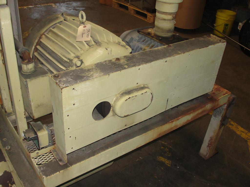 Blower 781 cfm, positive displacement blower Republic Pneumatics, 60 hp4