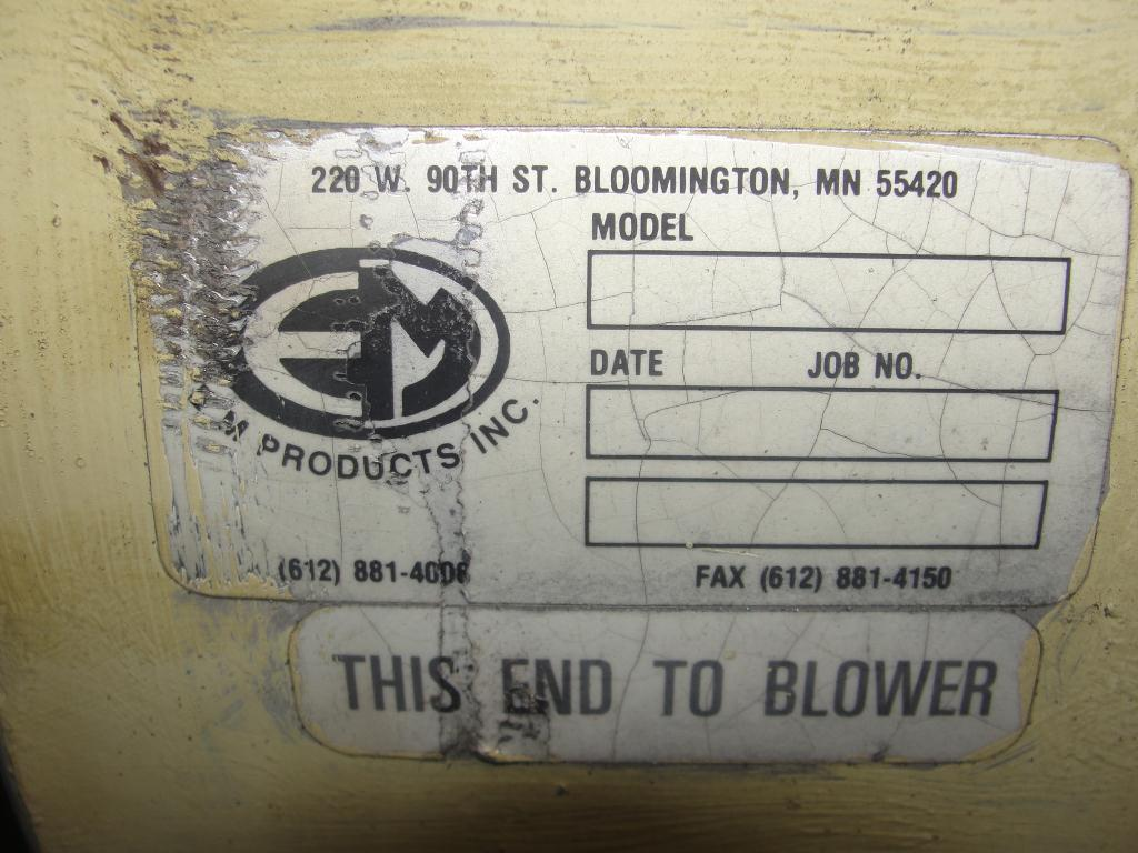 Blower 781 cfm, positive displacement blower Shick, 60 hp6