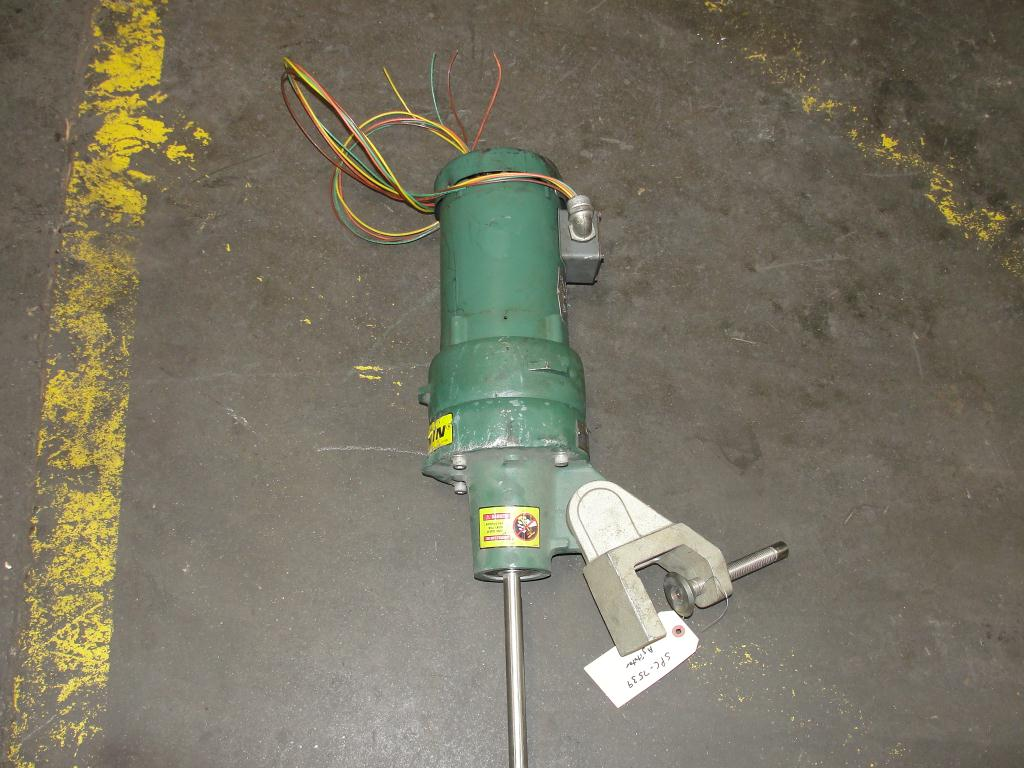 Agitator 1/3 hp electric Lightnin clamp-on agitator, model FV5P332