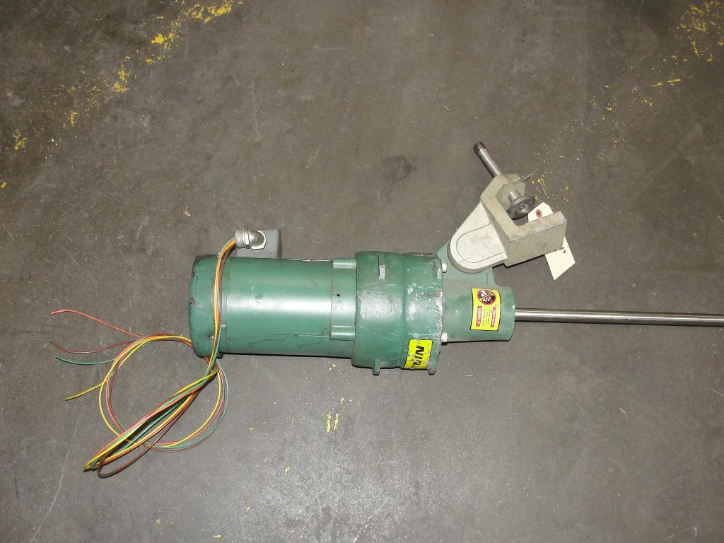 Agitator 1/3 hp electric Lightnin clamp-on agitator, model FV5P333