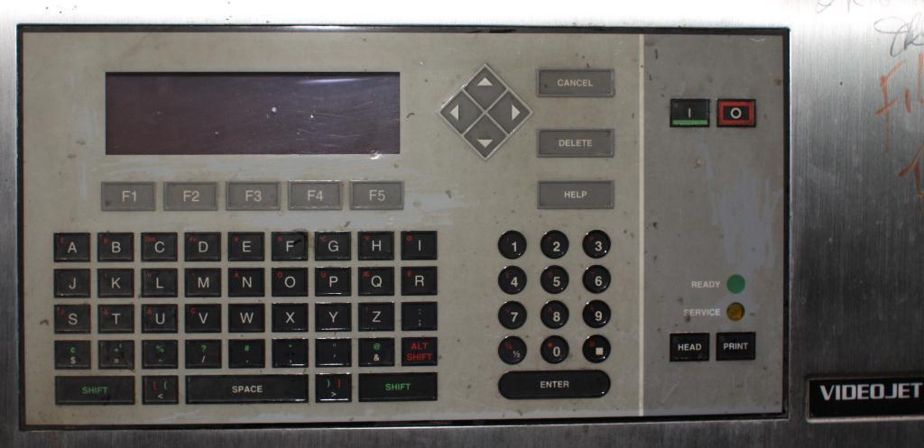 Coder Videojet ink-jet coder model Excel 178i, 1 print heads4