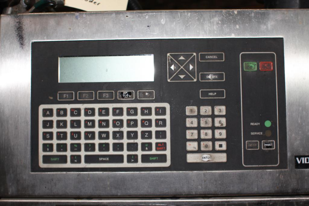 Coder Videojet ink-jet coder model Excel Series 100, 1 print heads, up to 916 ft/min (line speed)4