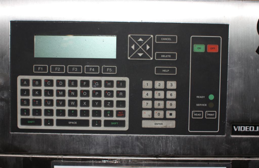 Coder Videojet ink-jet coder model Excel Series 100, 1 print heads, up to 916 ft/min4
