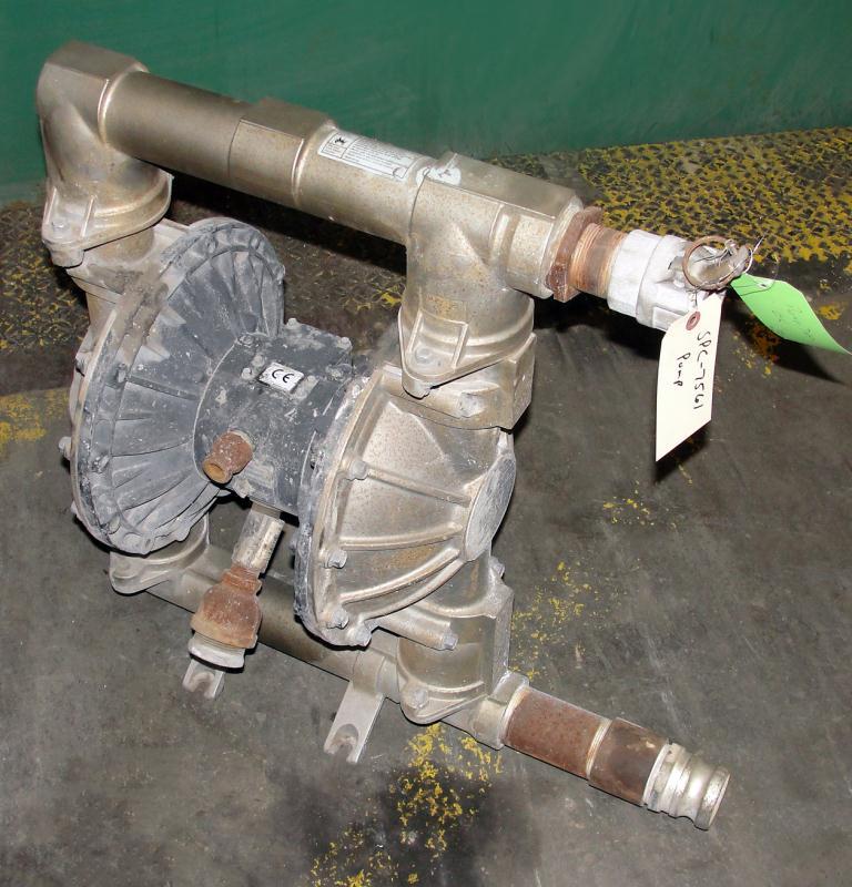 Pump 3 Graco diaphragm pump, Stainless Steel1