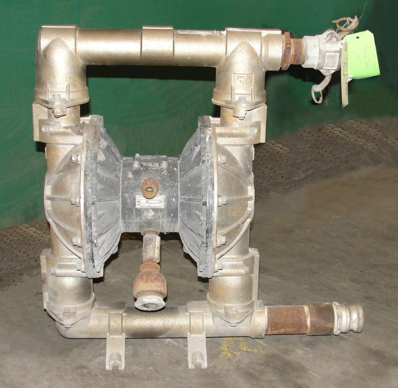 Pump 3 Graco diaphragm pump, Stainless Steel2
