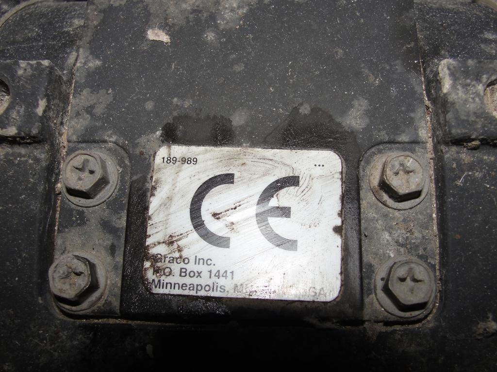 Pump 3 Graco diaphragm pump, Stainless Steel4