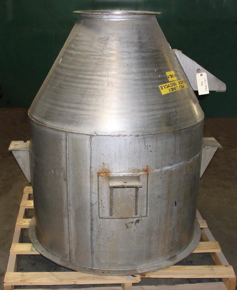 Bin 23 cu.ft., bulk storage bin, Stainless Steel1