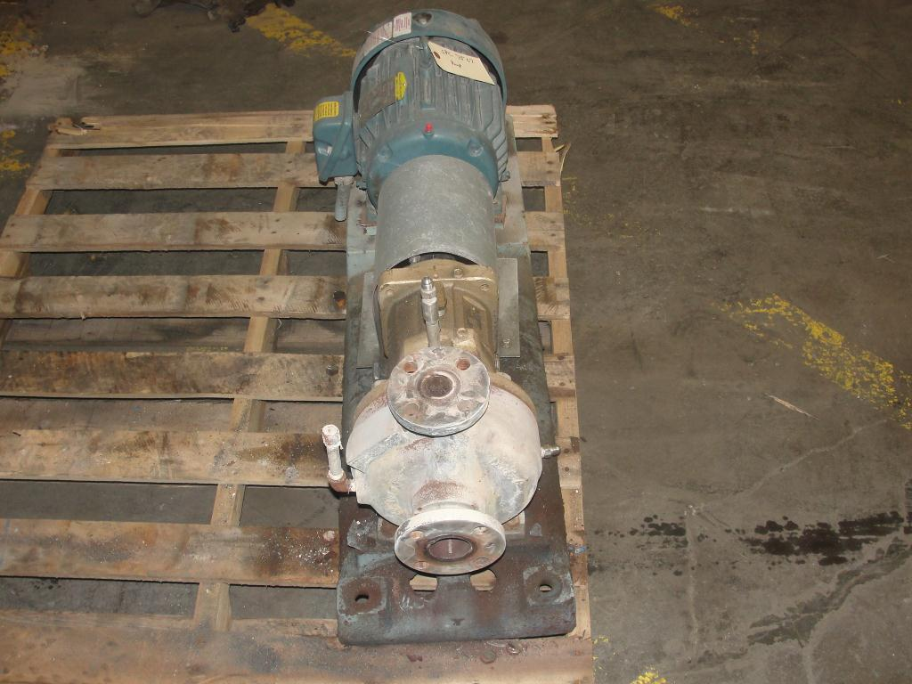 Pump 1.5x1x5 Goulds STX centrifugal pump, 5 hp, Stainless Steel2
