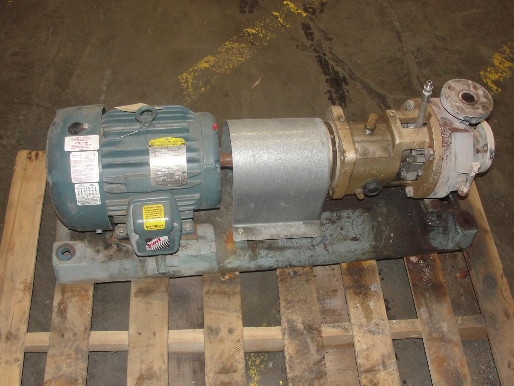 Pump 1.5x1x5 Goulds STX centrifugal pump, 5 hp, Stainless Steel4