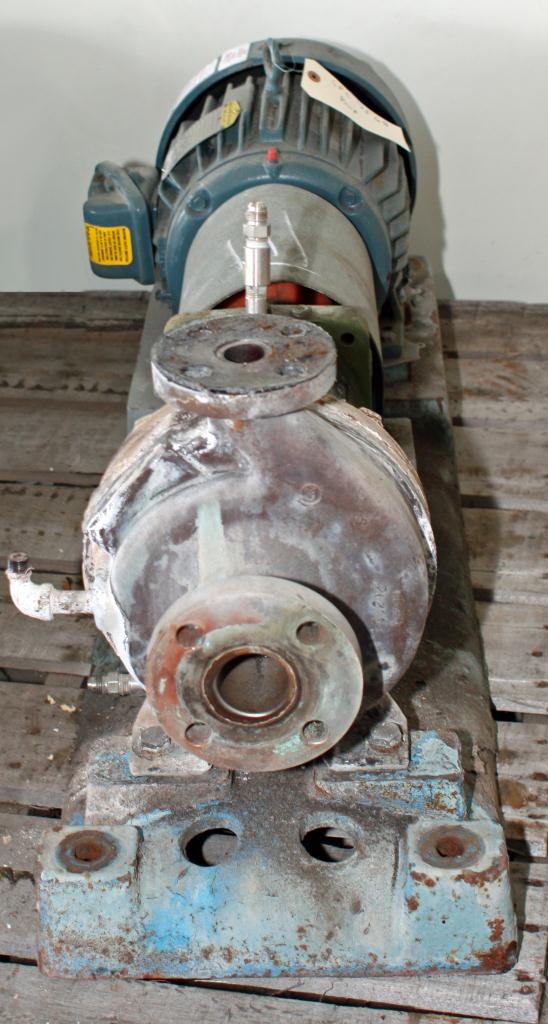 Pump 12 x  43 x  15 GOULDS centrifugal pump, 5 hp, Stainless Steel2