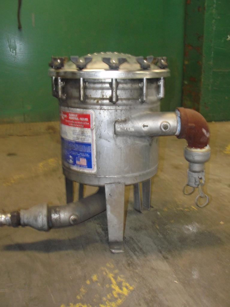 Filtration Equipment Harmsco cartridge filter model HUB40HP., Stainless Steel1