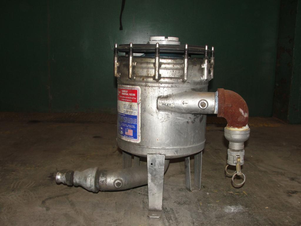 Filtration Equipment Harmsco cartridge filter model HUB40HP., Stainless Steel2