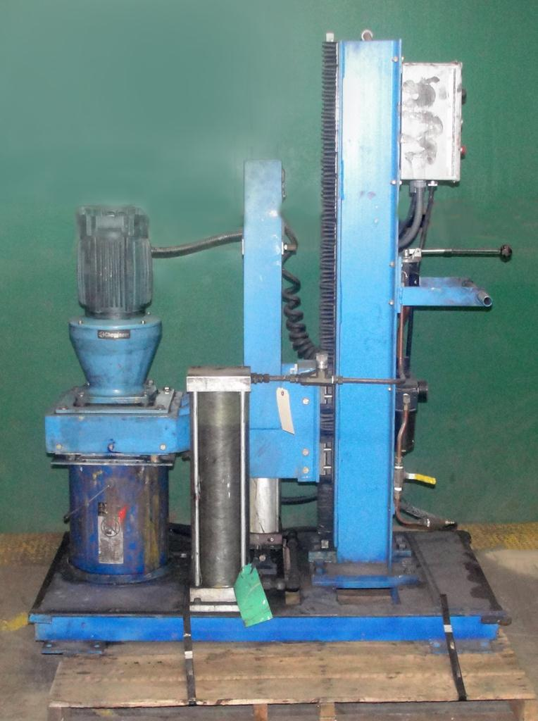 Mixer and Blender 2 hp Chemineer disperser1