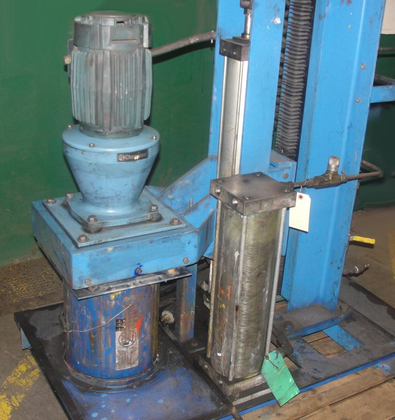 Mixer and Blender 2 hp Chemineer disperser2