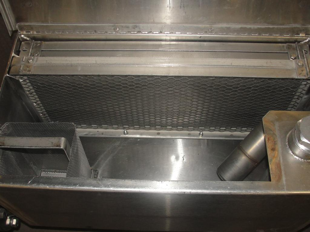 Washer 13 x 11 and 13 x 6 work opening case or tray washer, Stainless Steel6