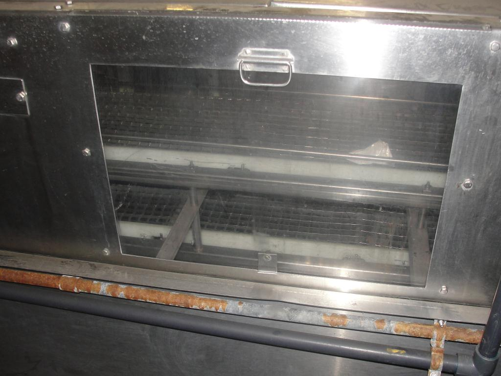 Washer 13 x 11 and 13 x 6 work opening case or tray washer, Stainless Steel8