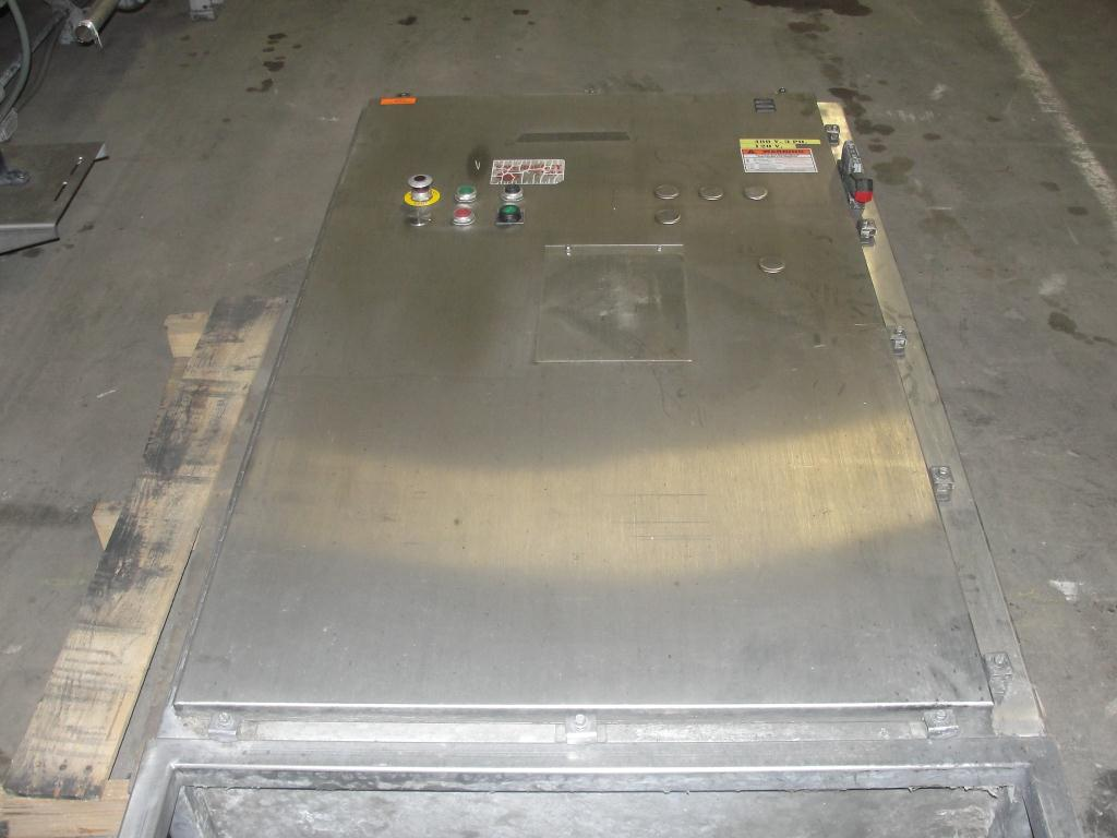 Washer 13 x 11 and 13 x 6 work opening case or tray washer, Stainless Steel13
