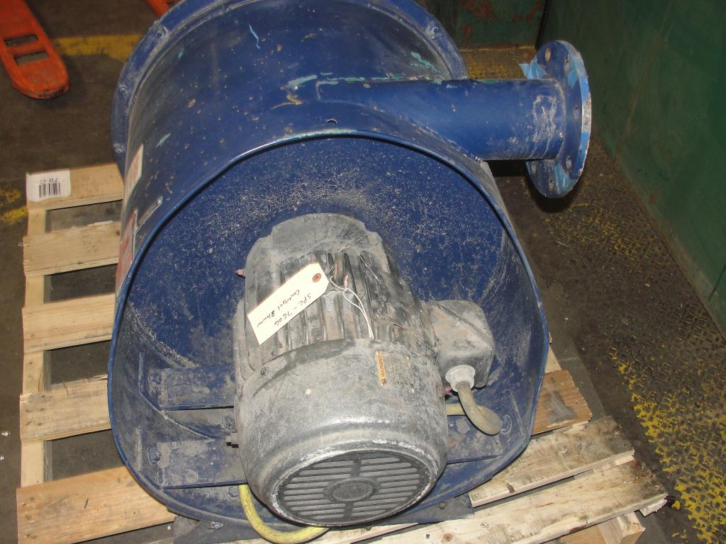 Blower 135 cfm multistage centrifugal blower, Spencer, 7.5 hp3