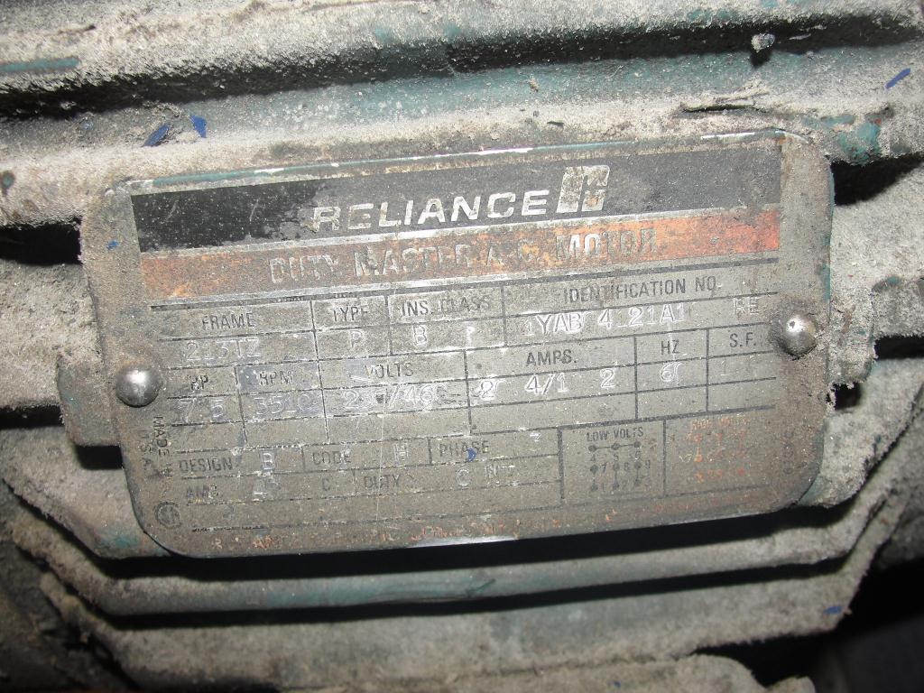 Blower 135 cfm multistage centrifugal blower, Spencer, 7.5 hp5