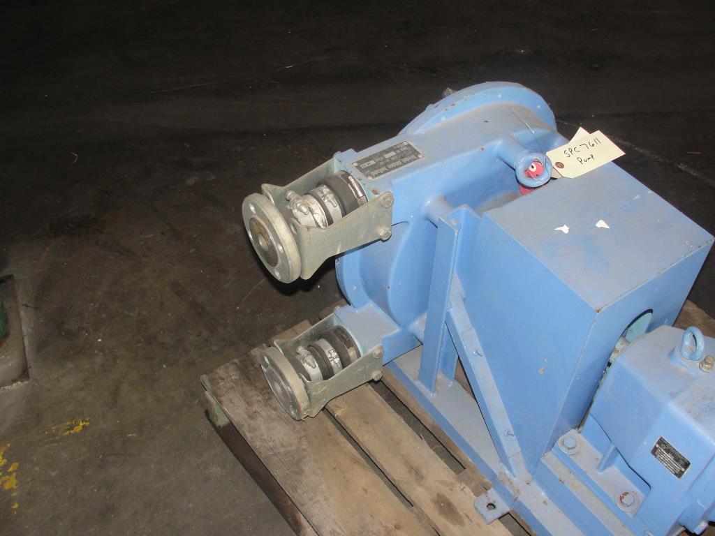 Pump 1 inlet Bredel Delden Holland positive displacement pump model Type SP-32, 1-1/2 hp5