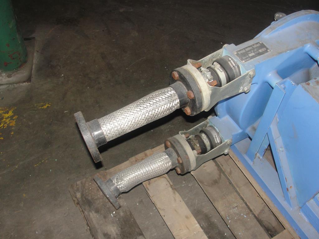 Pump 1 inlet Bredel Delden Holland positive displacement pump model Type SP 32, 1-1/2 hp, CS5