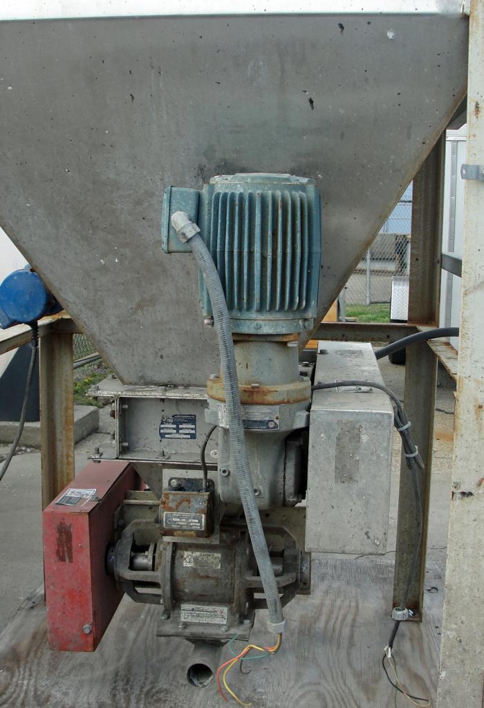 Bin 16 cu.ft., bulk storage bin, Stainless Steel2