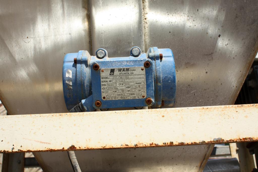 Bin 16 cu.ft., bulk storage bin, Stainless Steel7
