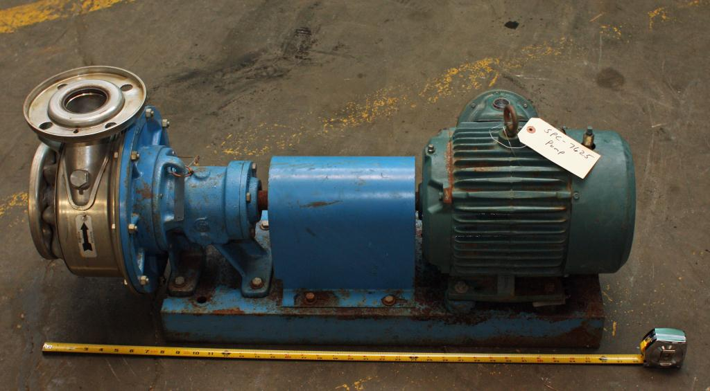 Pump 2 1/2 x3x6 Gould Pumps centrifugal pump, 3 hp, Stainless Steel2
