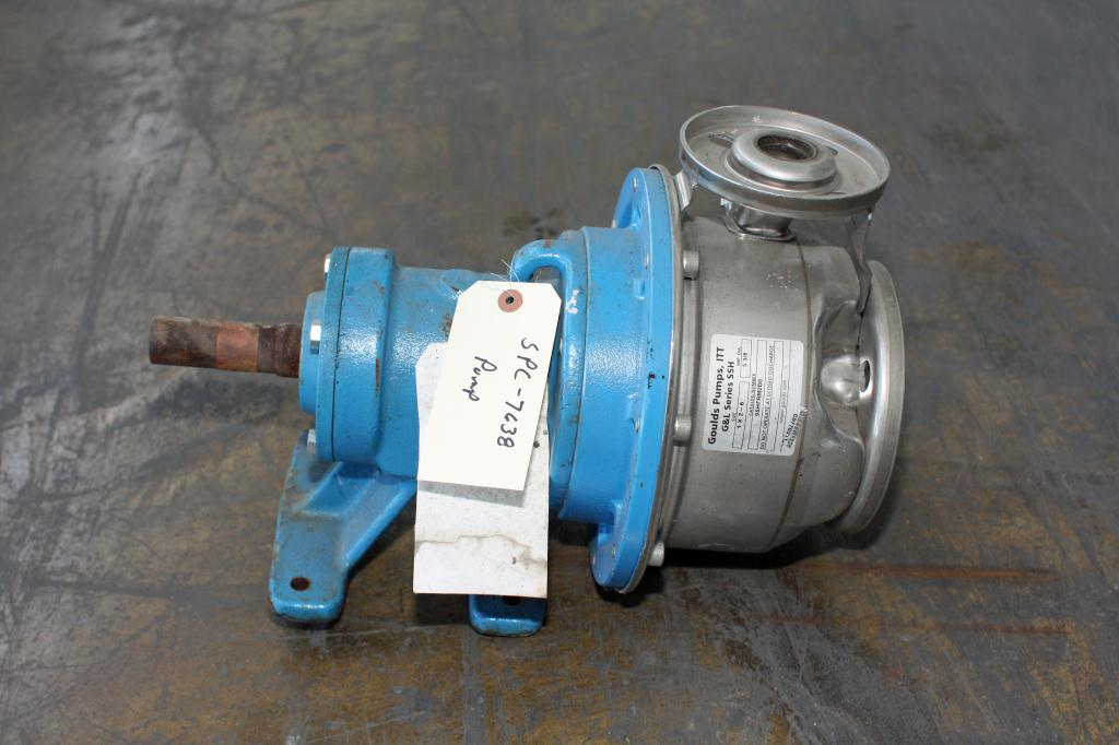 Pump 2x1x5 3/8 Goulds centrifugal pump, 316 SS2