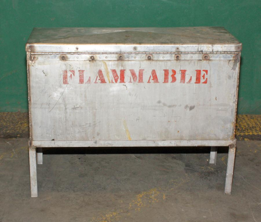 Miscellaneous Equipment chemical storage locker 12W x 30L x 15 D2