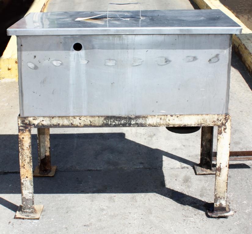 Miscellaneous Equipment bottle dump station Stainless Steel 28 each 1-3/8 diameter holes, 16W x 32L x 15 3/4D3