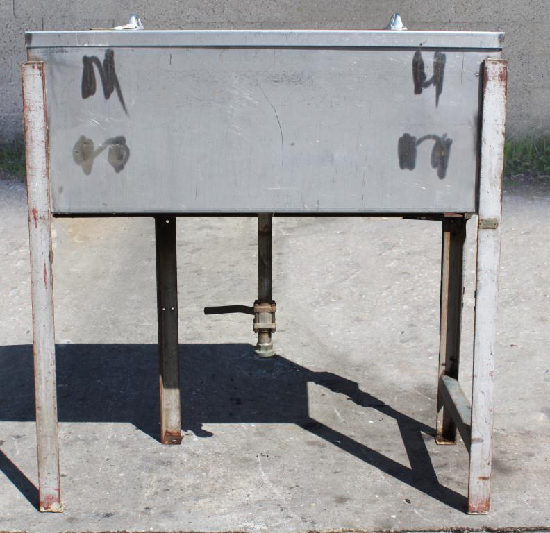Miscellaneous Equipment bottle dump station Stainless Steel 39 each 1-1/4 diameter holes holes,  17 1/2W x 39 1/2L x 15D2