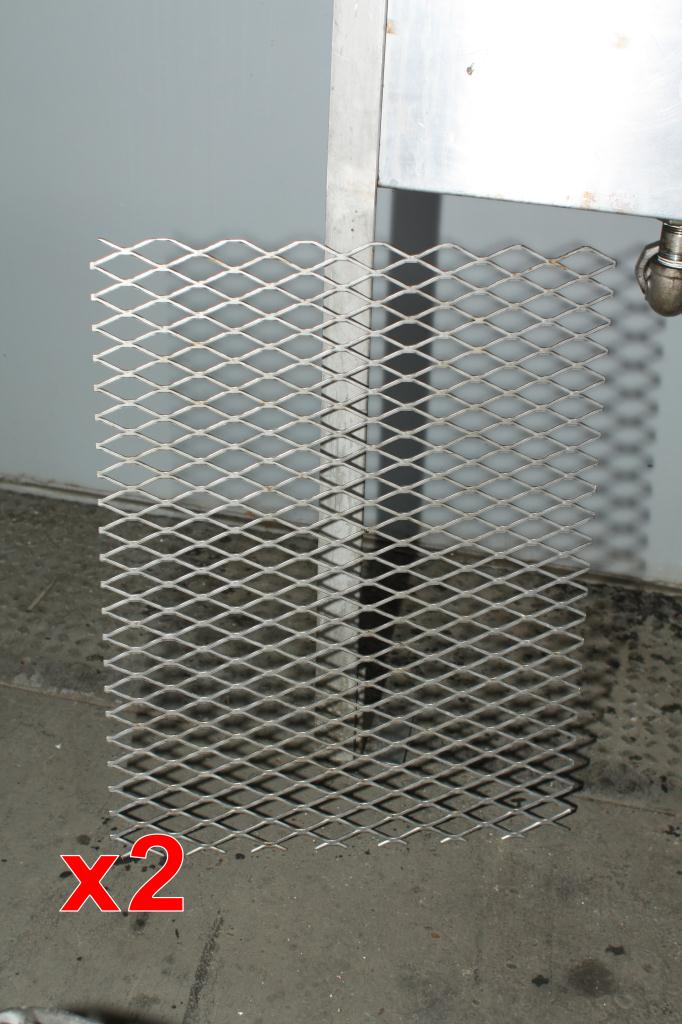 Miscellaneous Equipment bottle dump station Stainless Steel 14 each 1-5/8 diameter holes holes, 17W x 41-½L x 36-1/2H8